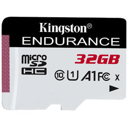 KINGSTON Card Micro SDXC High Endurance, 32GB, CLASS 10