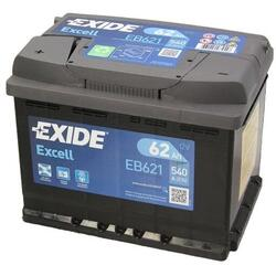 EXIDE Baterie auto Excell 62Ah, 540A