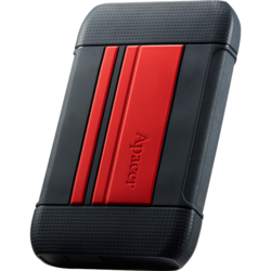APACER HDD Extern  AC633 2.5'' 1TB USB 3.1, shockproof military grade, Red