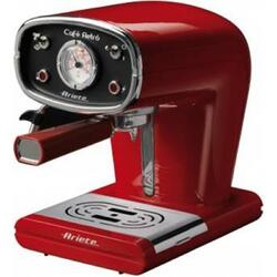 Espressor manual Ariete Retro 1388, 900 W, 15 bar, Negru