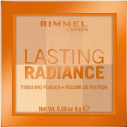 Pudra compacta Rimmel London Lasting Radiance 001 Ivory, 8 g