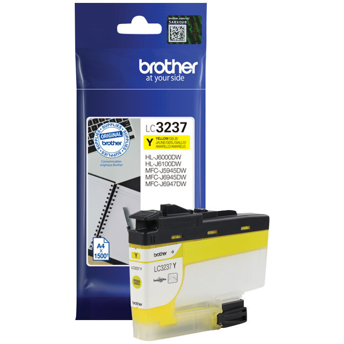 Cartus Brother LC3237Y, yellow poza 2021