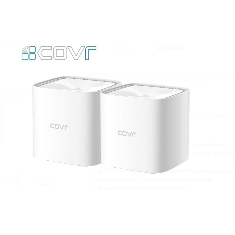 AC1200 Whole Home Wi-Fi system (2 pack) poza 2021