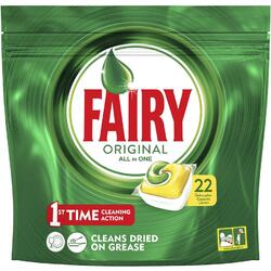 Detergent de vase capsule Fairy All in 1 22 bucati