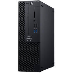 Sistem desktop DELL OptiPlex 3070 SFF, Intel Core i5-9500 3.0GHz Coffee Lake, 8GB DDR4, 256 GB SSD, GMA UHD 630, Win 10 Pro