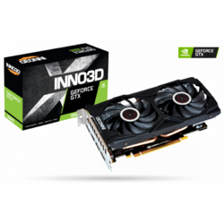 INNO3D Placa video nVidia GeForce GTX1660 Gaming OC X2 6GB, GDDR5, 192bit