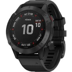 Ceas Smartwatch Garmin Fenix 6 Pro, 47 mm, Black