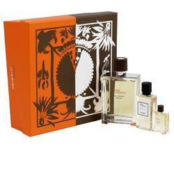 Set Hermes, Terre d'Hermes Eau Intense Vetiver, Barbati: Apa de Parfum, 100 ml + Gel de dus, 40 ml + Apa de Parfum, 5 ml
