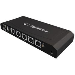 UBIQUITI Switch cu management EdgeSwitch ES-5XP, 5 x RJ45 Gigabit, PoE 60W