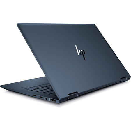 Laptop 2-in-1 HP 13.3'' Elite Dragonfly, FHD IPS Touch, Intel Core i5-8265U, 8GB, 256GB SSD, GMA UHD 620, Win 10 Pro, Blue