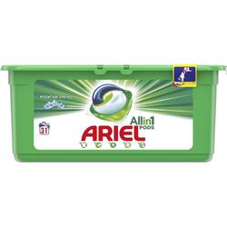 Detergent capsule Ariel All in One PODS Mountain Spring, 31 spalari