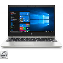 Laptop HP 15.6'' ProBook 450 G7, FHD, Intel Core i5-10210U, 8GB DDR4, 256GB SSD, GMA UHD, Win 10 Pro, Silver