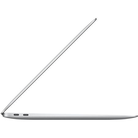 Laptop Apple 13.3'' MacBook Air 13 with Retina True Tone, Ice Lake i3 1.1GHz, 8GB DDR4X, 256GB SSD, Intel Iris Plus, macOS Catalina, Silver, INT keyboard