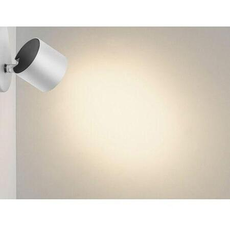 Spot LED luminos myLiving Star, 3W (35W), 230V, lumina alba calda 2700K