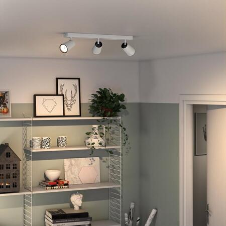 Spot LED luminos myLiving Paisley, 3xGU10, 5.5W, 230V, IP20