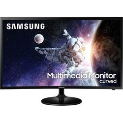 Monitor LED Samsung LC32F39MFUUXEN Curbat 31.5 inch 4 ms Black 60Hz