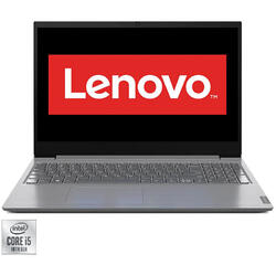 Laptop Lenovo 15.6'' V15 IIL, FHD, Intel Core i5-1035G1, 8GB DDR4, 256GB SSD, GMA UHD, No OS, Iron Grey