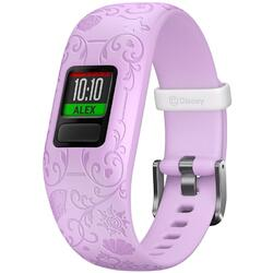 Bratara fitness Garmin Vivofit Jr. 2, Bratara reglabila, Princess/Purple