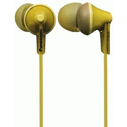Casti audio in-ear Panasonic RP-HJE125E-Y, Galben