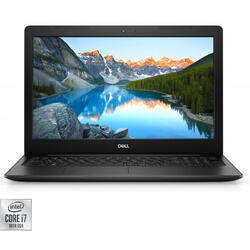 Laptop DELL 15.6'' Inspiron 3593 (seria 3000), FHD, Intel Core i7-1065G7, 8GB DDR4, 512GB SSD, GeForce MX 230 2GB, Linux, Black
