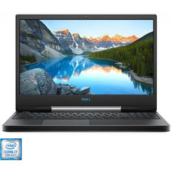 Laptop DELL Gaming 15.6'' G5 5590, FHD 144Hz, Intel Core i7-9750H, 16GB DDR4, 1TB + 256GB SSD, GeForce RTX 2060 6GB, Linux, Black