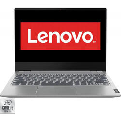"Laptop Lenovo ThinkBook 13s-IML, 13.3"" FHD, Intel Core i5-10210U, 16GB, SSD 512GB, Intel UHD Graphics, No OS, Mineral Grey"