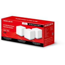 MERCUSYS Sistem wireless MESH Complete Coverage - router AC1200, Halo S12(3-pack)