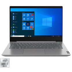 "Laptop Lenovo ThinkBook 14 IIL, 14"" FHD, Intel Core i5-1035G4, 16GB DDR4, 512GB SSD, GMA UHD, No OS, Mineral Grey"