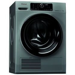 Whirlpool Profesionale Uscator de rufe Whirlpool Profesional AWZ 10 CD S/PRO Steam care Soft move 10kg , argintiu