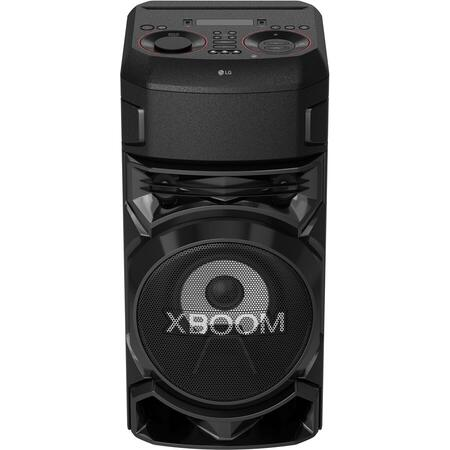 Sistem audio LG XBOOM RN5, Bluetooth, Dual-USB, Radio FM, Karaoke Creator, Party Lighting, negru