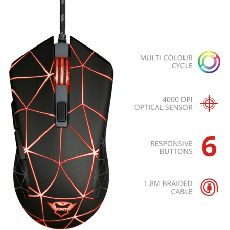 Mouse Gaming Trust GXT 133 Locx