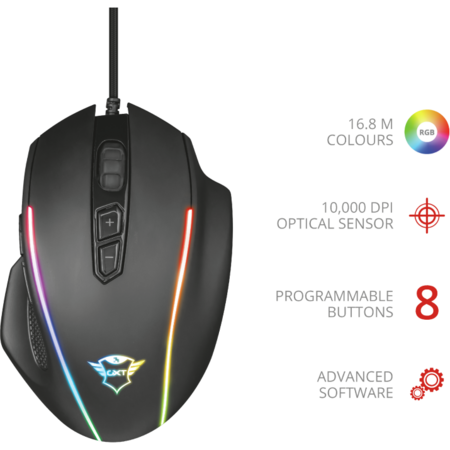 Mouse Gaming Trust GXT 165 CELOX RGB