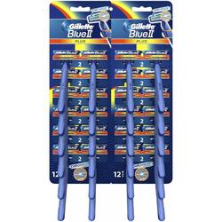 Aparat de ras Gillette Blue ll Plus Ultragrip card 24 buc