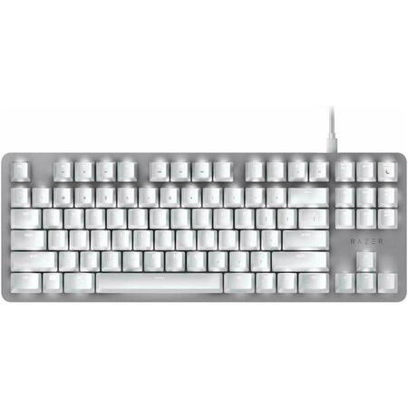 Tastatura Gaming Razer BlackWidow Lite Mercury White Mecanica