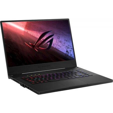 Laptop ASUS Gaming 15.6'' ROG Zephyrus S15 GX502LXS, FHD 300Hz, Intel Core i7-10750H, 32GB DDR4, 1TB SSD, GeForce RTX 2080 SUPER 8GB, No OS, Black