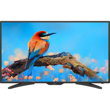 Televizor LED Smart Tech LE-4018ATS, 101 cm, Full HD, Sunet stereo, Slot CI, Negru