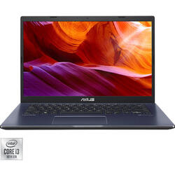 Laptop ASUS 14'' ExpertBook P1410CJA, FHD, Intel Core i3-1005G1, 8GB DDR4, 256GB SSD, GMA UHD, Endless OS, Black