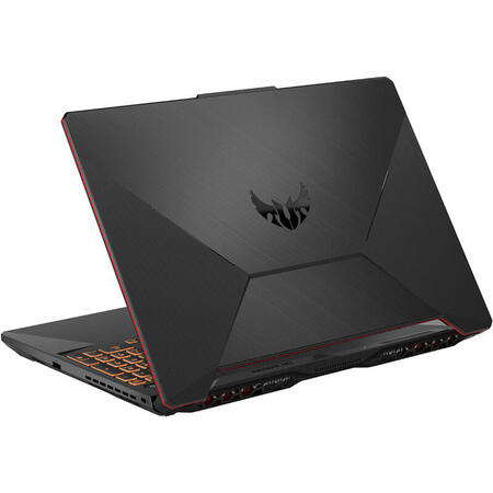 Laptop ASUS Gaming 15.6'' ASUS TUF A15 FA506IU, FHD, AMD Ryzen 7 4800H, 8GB DDR4, 512GB SSD, GeForce GTX 1660 Ti 6GB, No OS, Bonfire Black