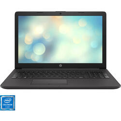 "Laptop HP 15.6"" 250 G7, HD, Intel Celeron N4020, 4GB DDR4, 500GB, GMA UHD 600, Free DOS, Dark Ash Silver"