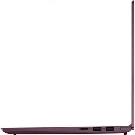 Ultrabook Lenovo 14'' Yoga Slim 7 14IIL05, FHD, Intel Core i5-1035G4, 16GB DDR4X, 512GB SSD, Intel Iris Plus, Win 10 Home, Orchid, Aluminium