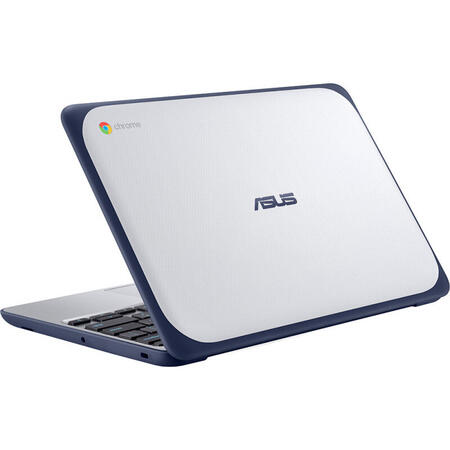 Laptop ASUS 11.6'' Chromebook C202XA, HD, Procesor MediaTek 8173C (2.10 GHz, 4C/4T), 4GB, 32GB eMMC, IMG PowerVR GX6250, Chrome OS, Blue