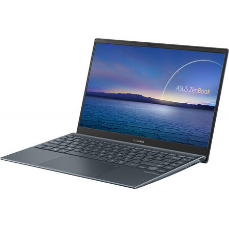 Ultrabook ASUS 13.3'' ZenBook 13 UX325JA, FHD, Intel Core i7-1065G7, 16GB DDR4, 512GB SSD, Intel Iris Plus, Win 10 Home, Pine Gray