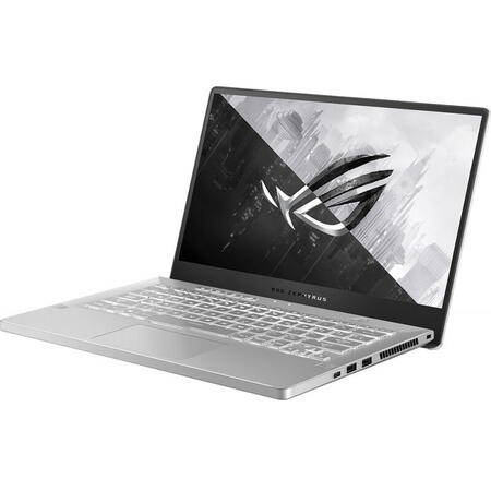 Laptop ASUS Gaming 14'' ROG Zephyrus G14 GA401IV, FHD 120Hz, AMD Ryzen 7 4800HS, 16GB DDR4, 1TB SSD, GeForce RTX 2060 6GB, Win 10 Home, Moonlight White