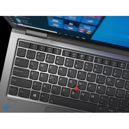 Ultrabook Lenovo 14'' ThinkPad X1 Yoga Gen 5, UHD Touch, Intel Core i7-10510U, 16GB, 512GB SSD, GMA UHD, 4G LTE, Win 10 Pro, Iron Grey