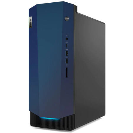 Sistem desktop Lenovo Gaming IdeaCentre G5, Intel Core i5-10400F, 8GB RAM, 256GB SSD + 1TB HDD, GeForce GTX 1650 SUPER 4GB, Free DOS