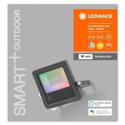 OSRAM Proiector LED Ledvance, SMART+ MULTICOLOR, cu technologie Wifi, 20W, 220-240V, IP65, lumina calda 3000K, RGBW