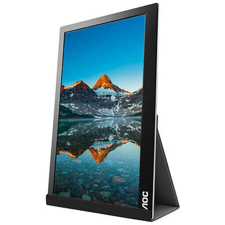 Resigilat Monitor LED AOC I1601FWUX 15.6 inch 5 ms Black USB-C 60Hz