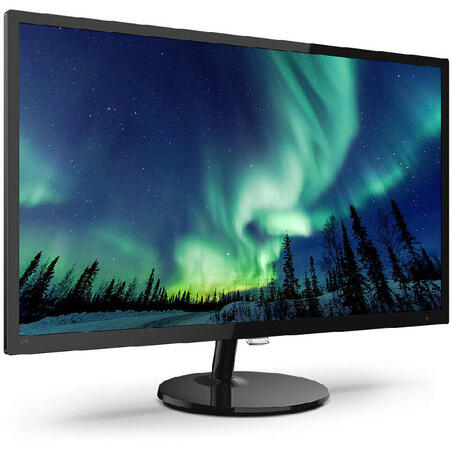 Monitor LED Philips 327E8QJAB/00 31.5 inch 4 ms Negru 75 Hz