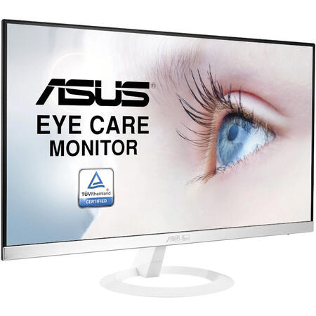 Monitor LED ASUS VZ279HE-W 27 inch 5 ms Alb 60 Hz