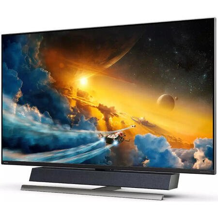 Monitor LED Philips Gaming 558M1RY Ambiglow 55 inch 4 ms Negru HDR FreeSync 120 Hz